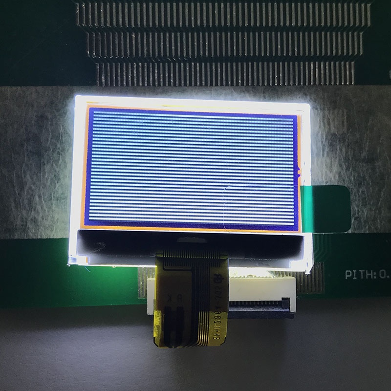 128x64 Transmissive Graphic LCD Displays