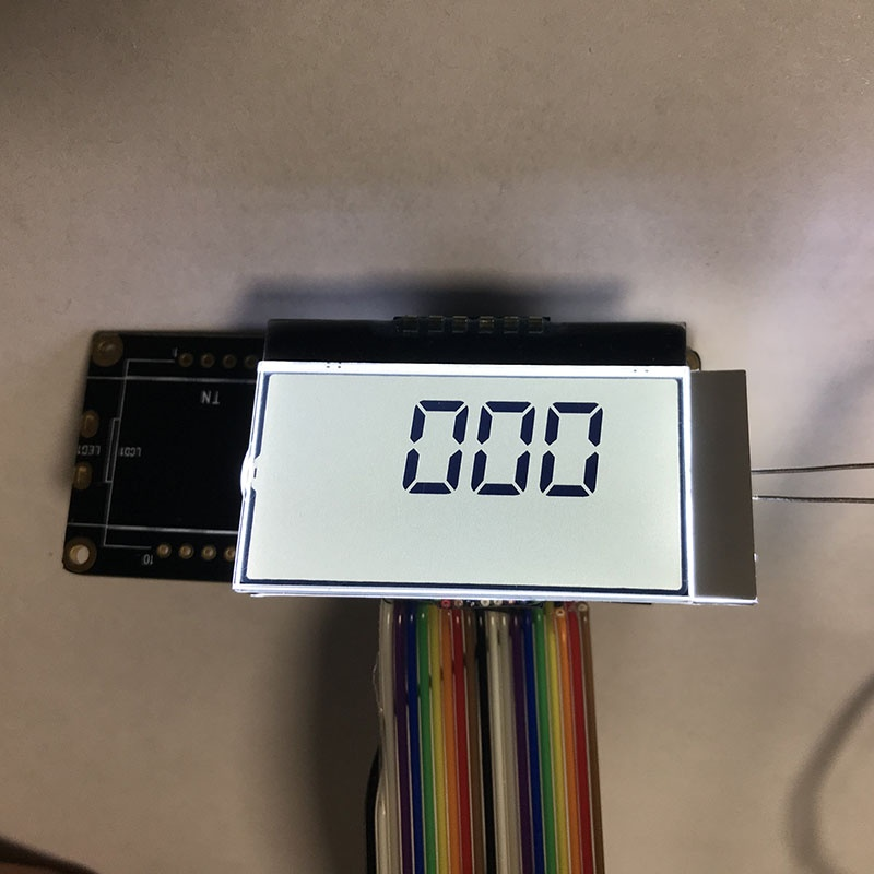 Custom Segment LCD module with Backlight