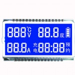 Custom 7 Segment LCD Display Module with Backlight