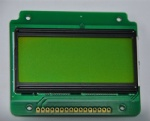 1604 COB Module LCD monitor with PCB board Green film