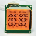 Custom 7 segment lcd display 4 digit
