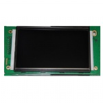 Custom monochrome negative segment VA COB lcd display module